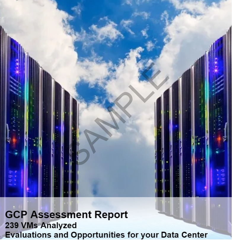 Cloud Cost Comparison Assessment Sample Report